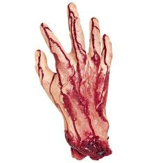 hand cut off