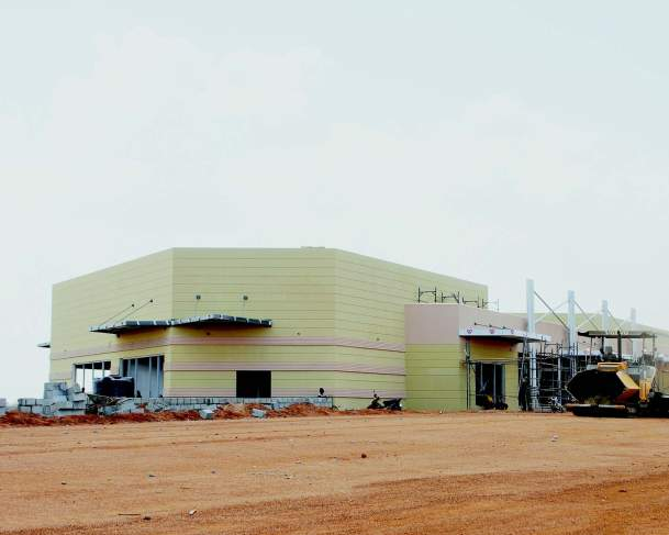 ONGOING WORKS AT THE BAUCHI INTERNATIONAL AIRPORT TERMINAL