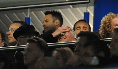 Ferguson Disappointed at Watching United's Performance at Stamford Bridge Earlier This Season.