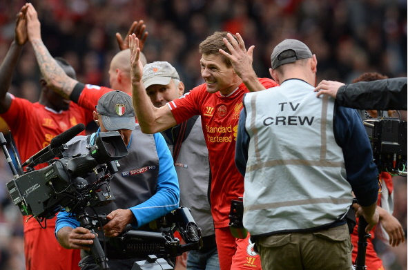 Steven Gerrard Says Hillsborough Disaster Was Behind his Emotional Reaction at the End of Sunday's Win Over Man City.
