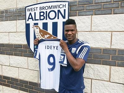 Brown Ideye Joins West Brom from Dynamo Kiev.