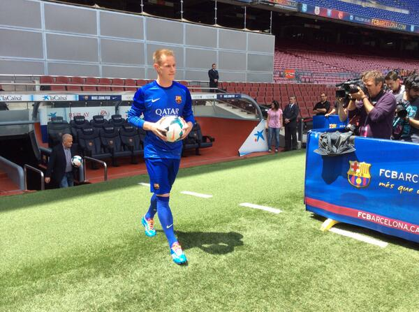 Marc-Andre ter Stegen Arrived Barcelona from Borussia Monchengladbach in the Summer.