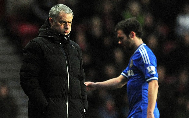 Mourinho parted ways with Juan Mata, allowing a move to Manchester United