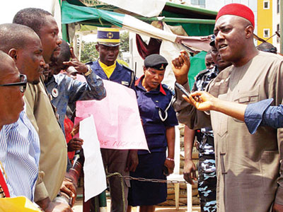 PDP NATIONAL PUBLICITY SECRETARY, OLISA METUH ADDRESSES AGGRIEVED RIVERS PDP YOUTHS
