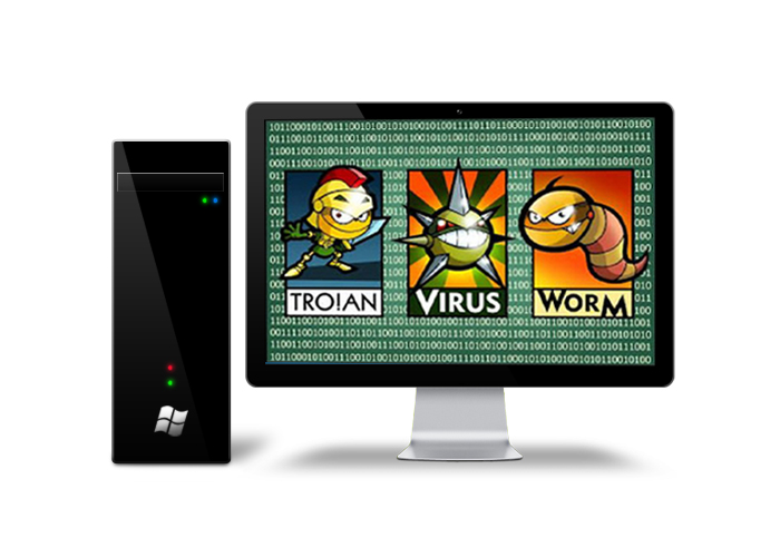 There are three types of programs that can infect a computer