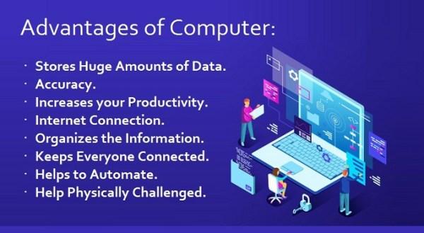 Advantages of a Computer