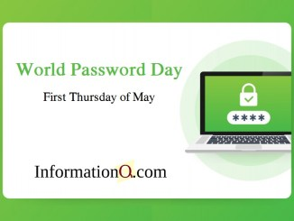 Password Day - First Thursday of May