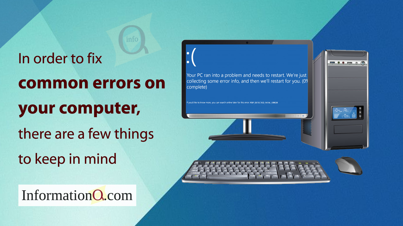 Common errors on your Computer
