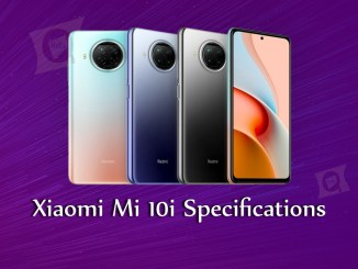Xiaomi 'Mi 10i' Features and Specifications