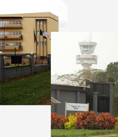 Blue Lodge Hotel near airport Ikeja Lagos