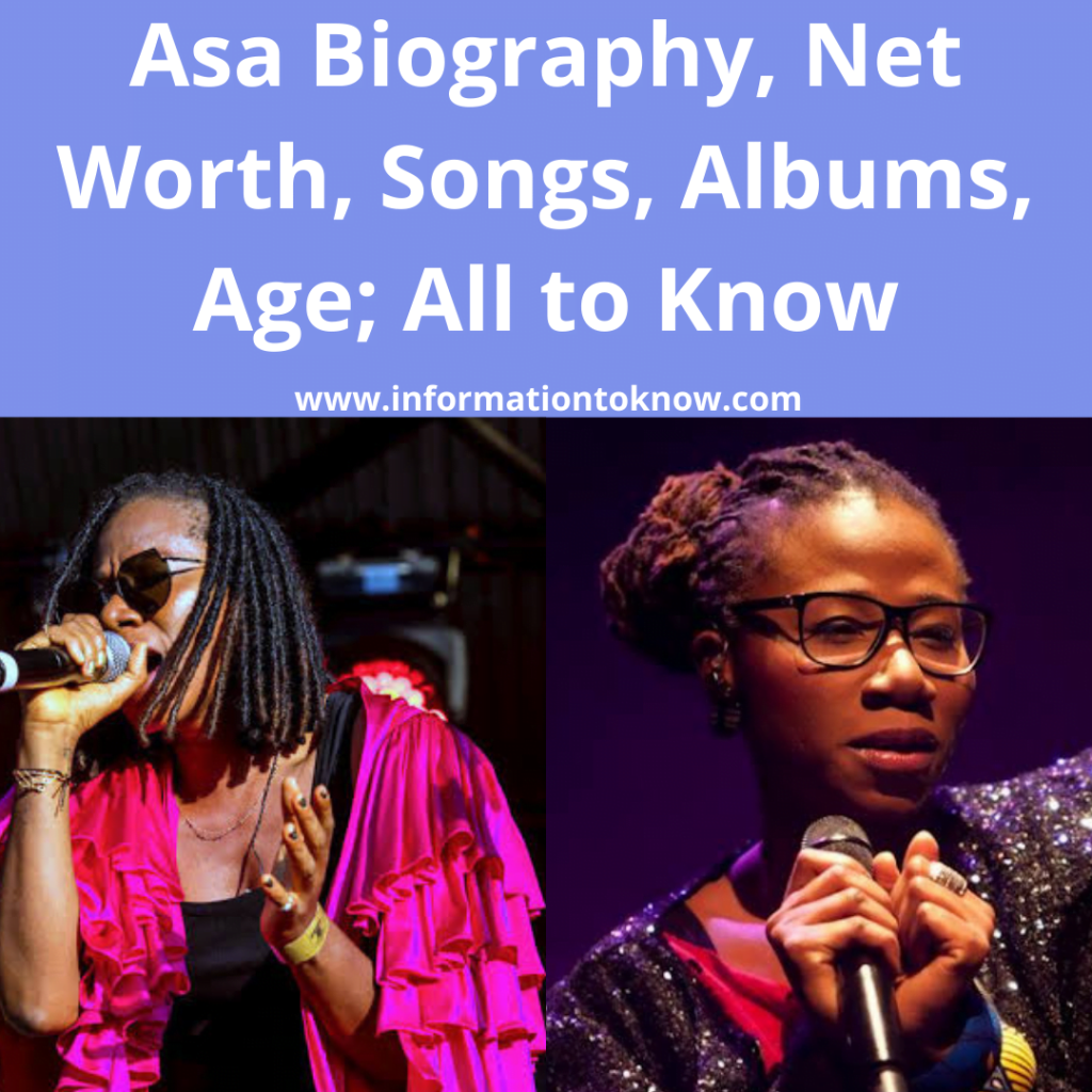 Asa Biography, Net Worth, Songs and More