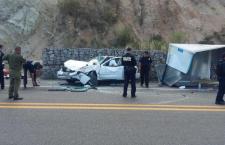 Deja una muerta y tres lesionados accidente de supercarretera