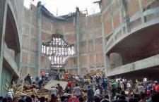 Legalmente identificadas victimas de desplome de iglesia en Tuxtepec