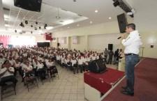 Voy a hacer equipo con los transportistas: Alejandro Murat Hinojosa