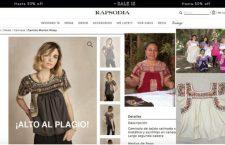 Marca argentina plagia diseño tradicional de la blusa zapoteca de San Antonino Castillo Velasco