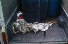 Abandonan camioneta con carga de gasolina robada
