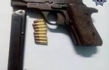 Asegurado por portar arma ilegal en Tacache de Mina