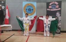 Ganan niños huajuapenses medallas de oro en Copa Canadá