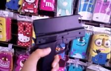 Roban con violencia tienda de celulares en el centro de Huajuapan