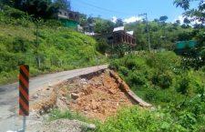 En el olvido, afectaciones de la carretera 125 Alfonso Pérez Gasga