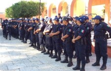 Continuará dotación de armas para policías de Huajuapan