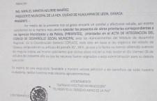 Demandan iniciar obras en agencias de Huajuapan; dan plazo a gobierno