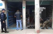 Decomisa PGR 20 mil discos piratas en Huajuapan