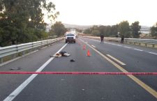 Fallece atropellado en la autopista; responsable huye