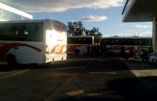 Secuestra MAIZ  autobuses en Huajuapan