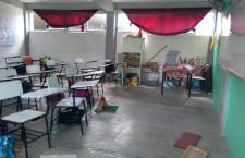 Más de 600 escuelas tienen daños por sismos en la Mixteca