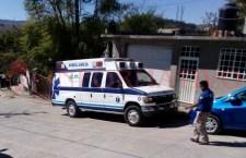 Causa hombre presuntamente drogado daños en ambulancia