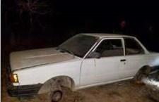 Encuentran desvalijado a vehículo reportado robado
