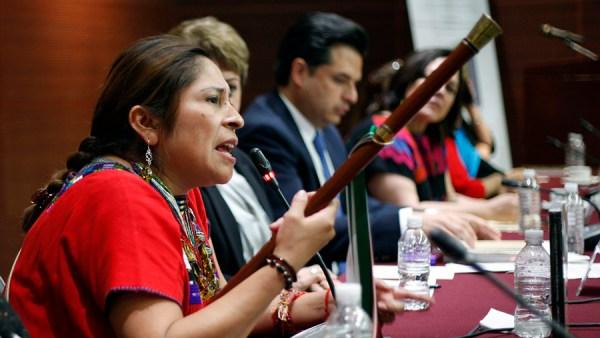 Desafueran a alcaldesa de Oxchuc, Gloria Sánchez Gómez