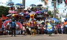 Resaltan identidad, costumbres y tradiciones de Putla en su carnaval