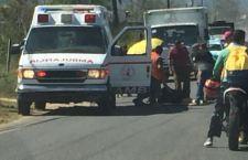 Se accidentan estudiantes del Cobao en Putla