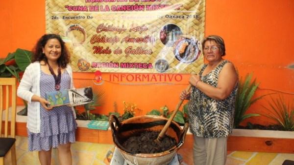 Doña Yolanda representará a Huajuapan en 2º Encuentro de cocineras tradicionales