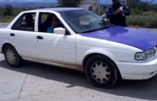 Aseguran vehículo que fue robado en Morelos