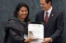 Ser indígena es tener un mundo y no renunciar a él: Nadia López, Premio Nacional de la Juventud