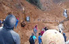 Desmiente Metaltepec que haya llegado el Ejército tras derrumbes; no ha habido condiciones: @CEPCO_GobOax