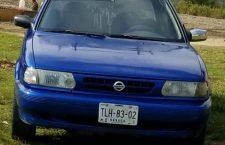 Roban vehículo en el centro de Juxtlahuaca