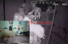 Cámaras de videovigilancia captan robo en comercio de Putla