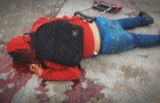 Lo asesinan en posible asalto