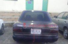 Asegurada por conducir vehículo con aparente reporte de robo
