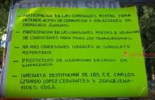 Sindicalizados de Huajuapan exigen participación en la bolsa económica que se repartirá en Sagarpa