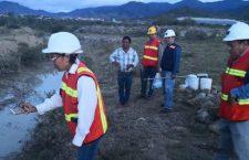 Sin agua 5 municipios Mixes por contaminación de Minera