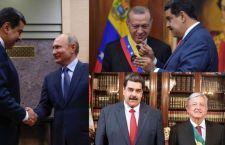Las 3 fotos que muestran la estrategia de Maduro para evitar el aislamiento internacional de Venezuela