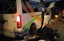Deja dos pasajeros lesionados choque de suburban del MULTI