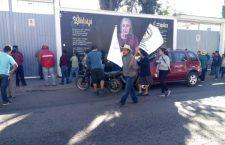 Con movilización, exige FNIC cumplimiento de pavimentación de camino a San Mateo Nejápam