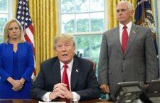 """Trump dice que arrestaron a """"10 terroristas"""" que llegaron de México a EU. AP lo agarra en la mentira"""