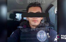 ¡Se busca! Él es Daniel N., el policía de Puebla acusado de violar una mujer